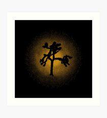 Joshua Tree Gold 30th Art Print