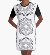 Nature Graphic T-Shirt Dress