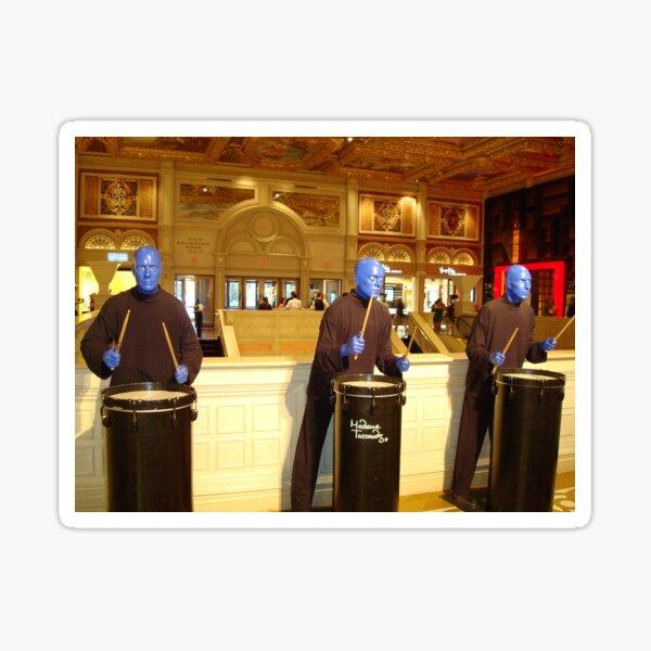 BLUE MAN GROUP - Las Vegas Sticker