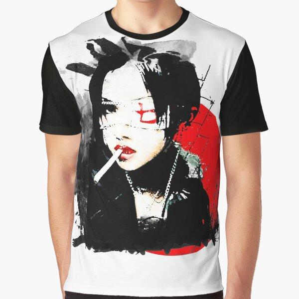 Japanese Punk Girl Graphic T-Shirt