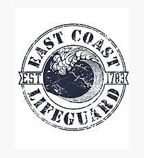 East Coast Lifeguard Photographic Print