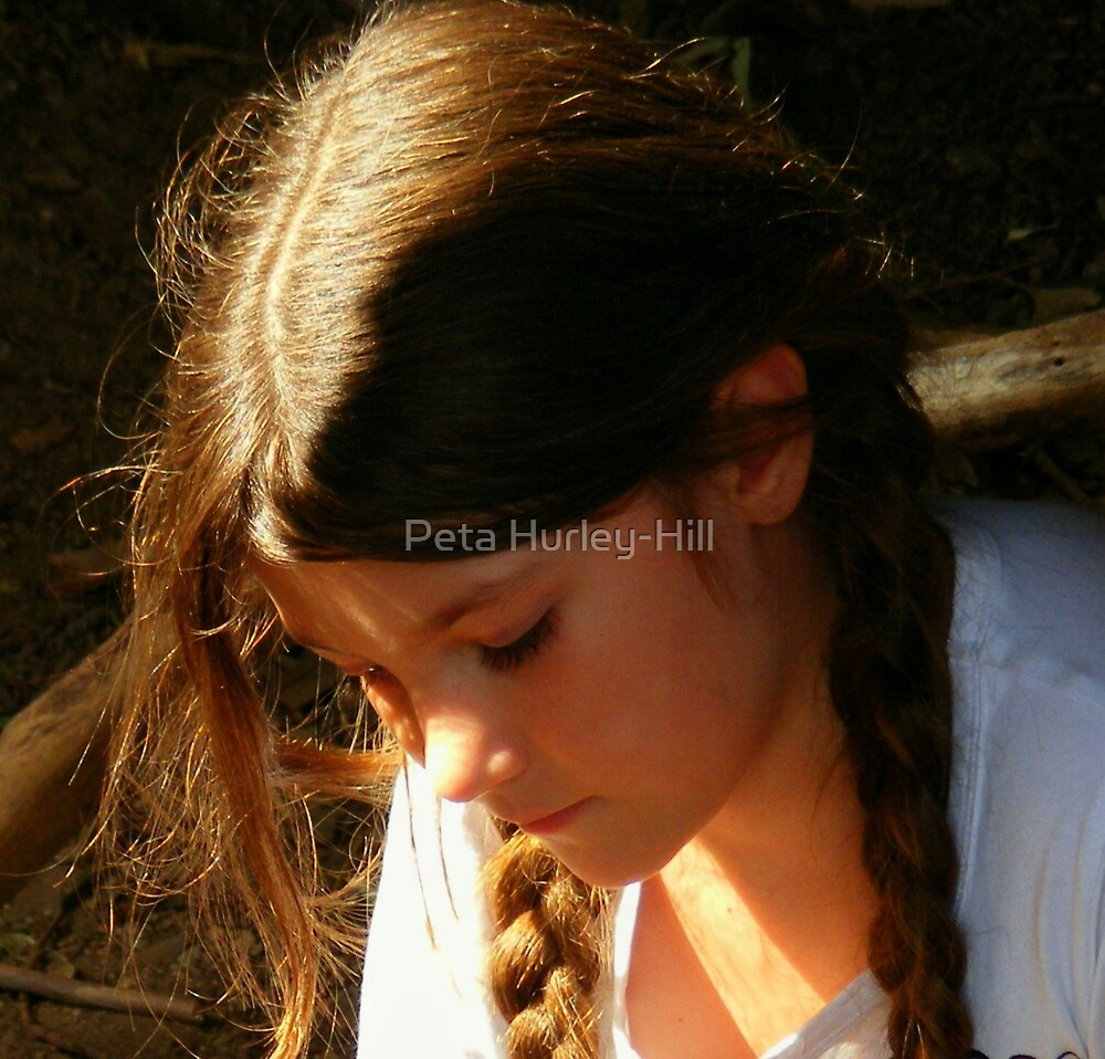 Zemi in the sun by Peta Hurley-Hill