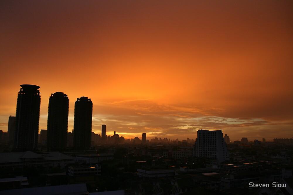 Good Morning Bangkok by Steven  Siow