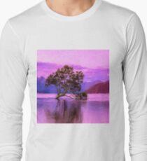 Tree of Life - Violet Dream Long Sleeve T-Shirt