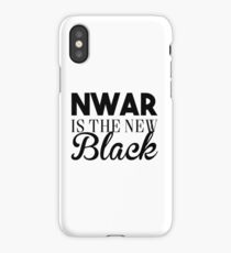 Nwar is the new black - damso iPhone Case/Skin