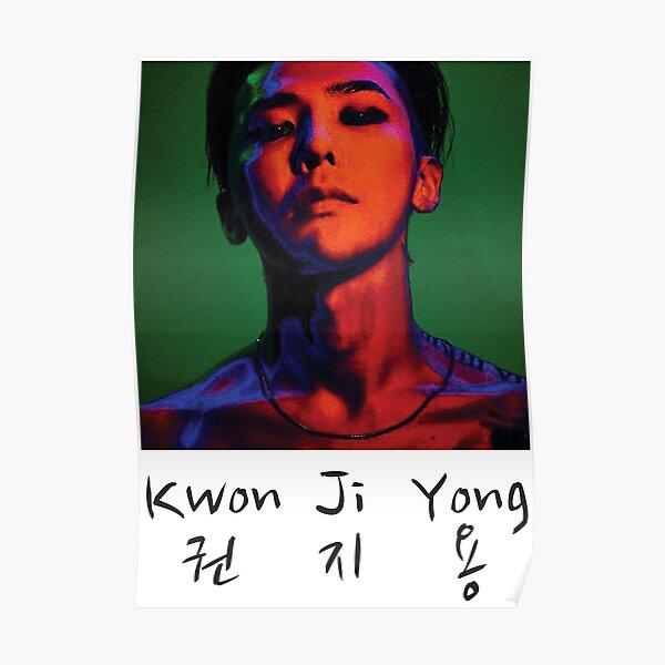 Kwon Ji Yong 2 Poster