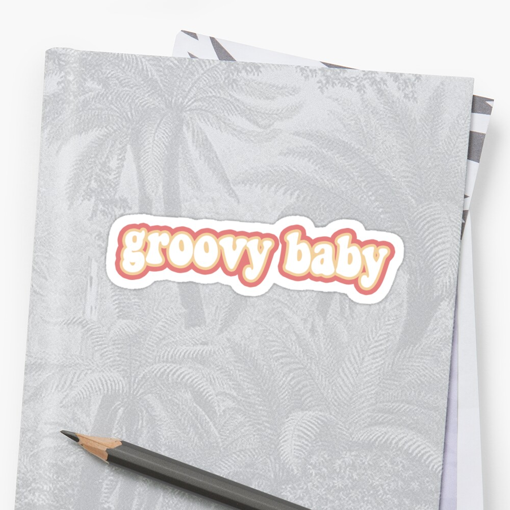 grooviges Baby Sticker