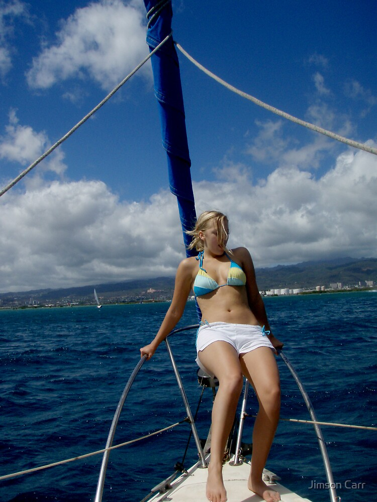 Sailing by Jimson Carr