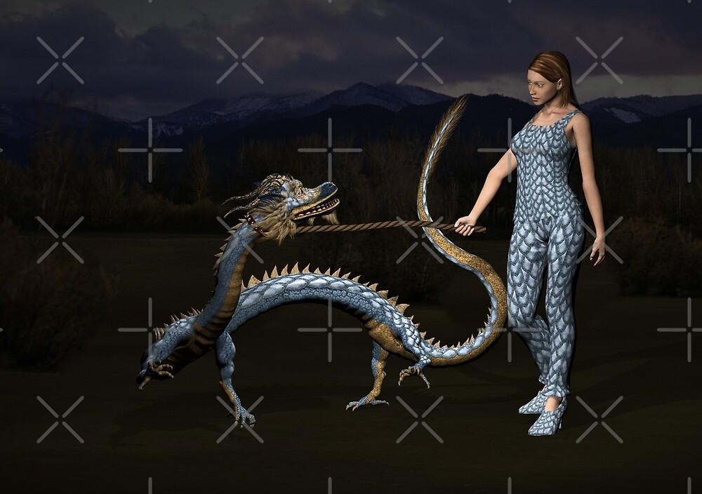 Walking The Dragon by Mythos57