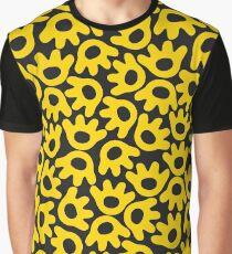 Monster Crunch! Black Graphic T-Shirt