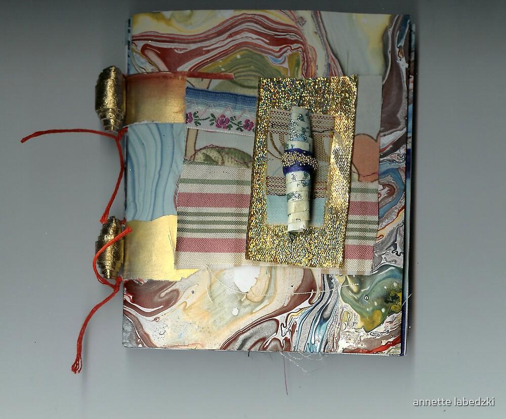 hand made book 1618 by annette labedzki