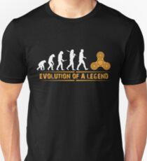 Fidget Spinner - Evolution a Legend T-Shirt