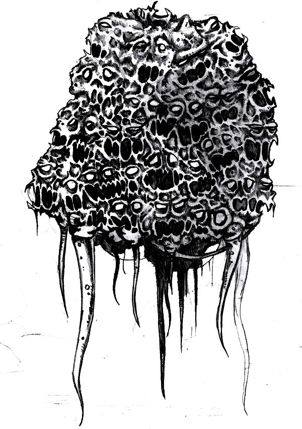 floating horror by rowanpunk
