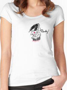 'Fine & Dandy' Women's Fitted Scoop T-Shirt