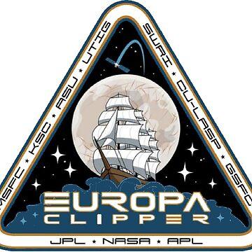 NASA's Europa Clipper Logo by Quatrosales