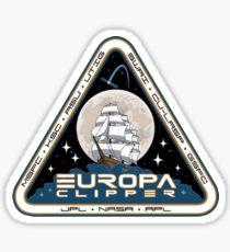 Pegatina Logotipo de Europa Clipper de la NASA