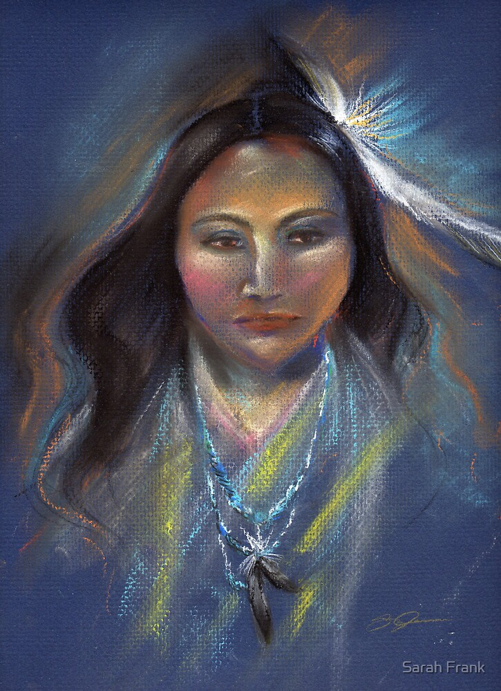 Native American woman by Sarah Frank