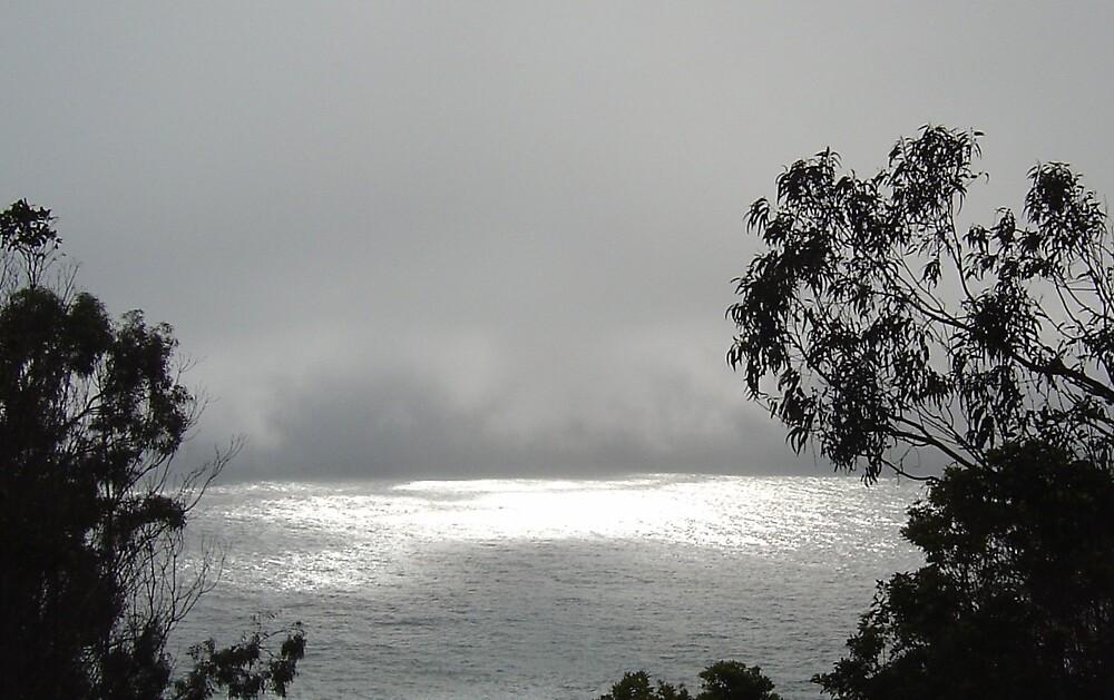 A Foggy Sea by Jerry Stewart