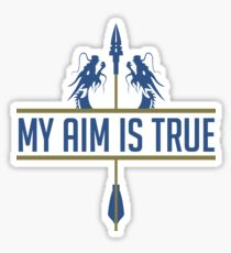 Hanzo - My Aim Is True Sticker