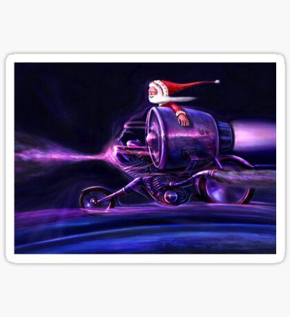 Stardust Rider Sticker