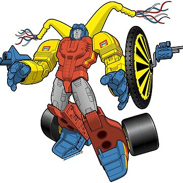 Classic Big Wheel Transformer  by Dexternal
