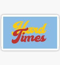 PARAMORE - Hard Times 90's Logo Sticker