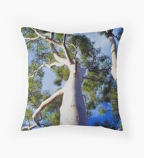 Ghostly Limbs Throw Pillow
