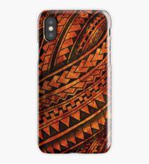 Polynesian Mix iPhone Case