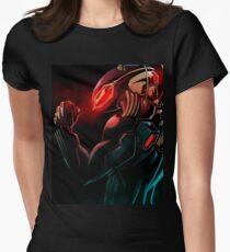 Black Manta T-Shirt Womens Fitted T-Shirt