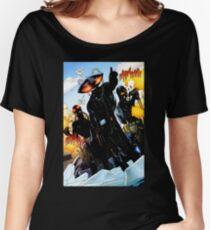 Black Manta Shirt Women's Relaxed Fit T-Shirt