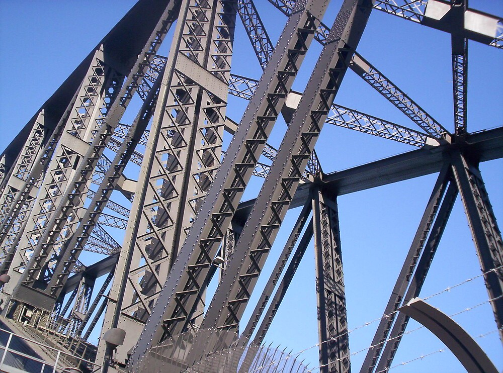 Sydney Harbour Bridge (by my 11 year old) by Linda Sass