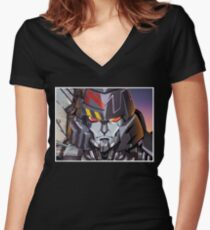 Transformers T-Shirt Women's Fitted V-Neck T-Shirt