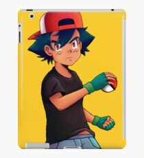 Ash with Pokeball iPad Case/Skin