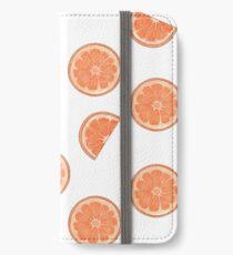 Citrus Fresh - Grapefruit iPhone Wallet