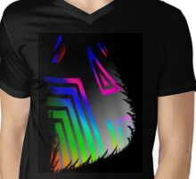 Neon Pastels Mens V-Neck T-Shirt