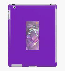 Saturn and ship in purple iPad Case/Skin