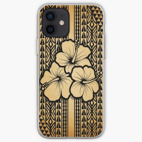 Polynesian Flower iPhone Soft Case
