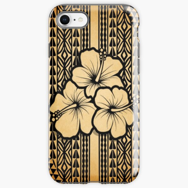 Polynesian Flower iPhone Tough Case