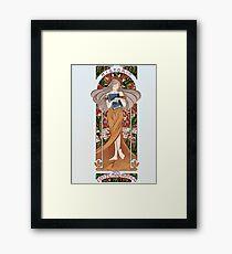 Art noveau, Historia del Arte contemporaneo Framed Print