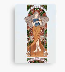 Art noveau, Historia del Arte contemporaneo Canvas Print