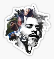 J. Cole Sticker