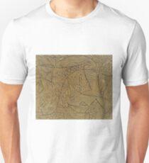 Burnt Gold Rough Start Unisex T-Shirt