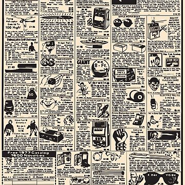 Comic Book Ads by mr-tee