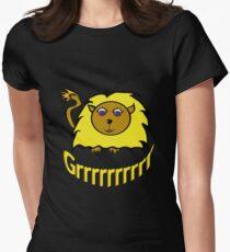 Grrrrrr Womens Fitted T-Shirt