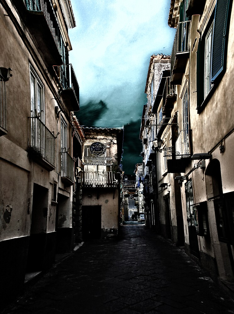 Alleyway in Italy by BizziLizzy