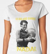 Rafa Nadal Legendary Women's Premium T-Shirt