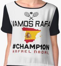 Vamos Rafa Champ10n Chiffon Top