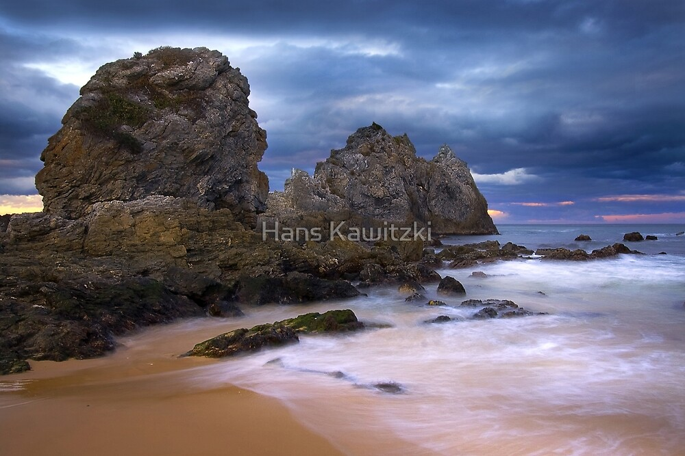 0907 Camel Rock #2 - Bermagui by Hans Kawitzki