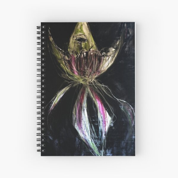 Incredible Green Spider Orchid Spiral Notebook