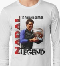 Rafael Nadal The Legend  Long Sleeve T-Shirt